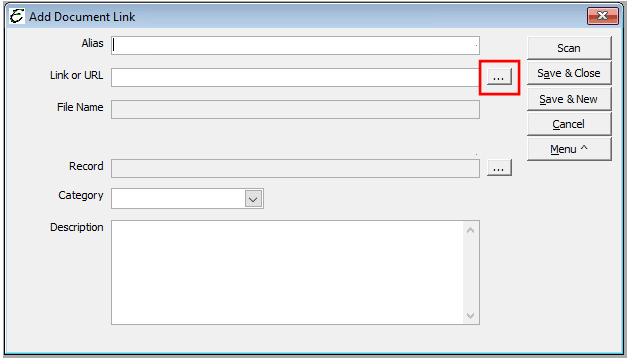 Add Document Link