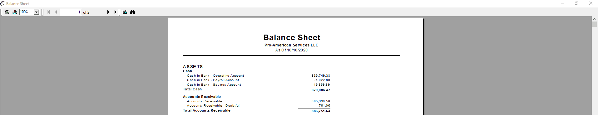 Balance Sheet - PDF