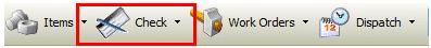 Tool Bar - Check Button