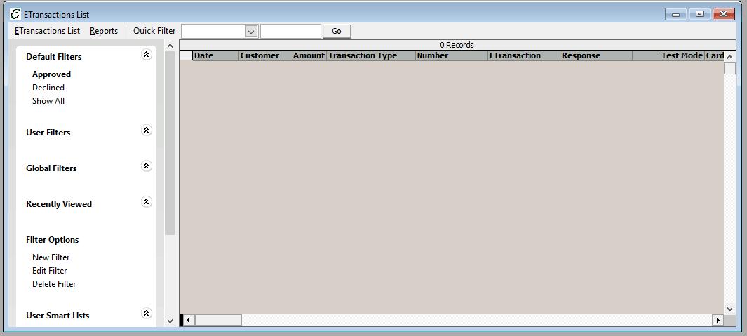 ETransactions List