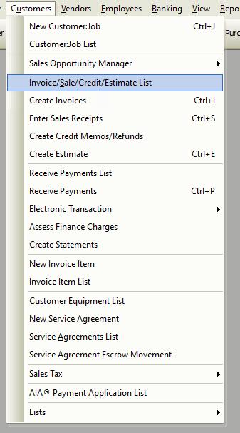 Invoice/Sale/Credit/Estimate File Path