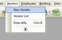 New Vendor File Path