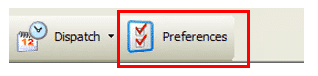 Preferences Toolbar