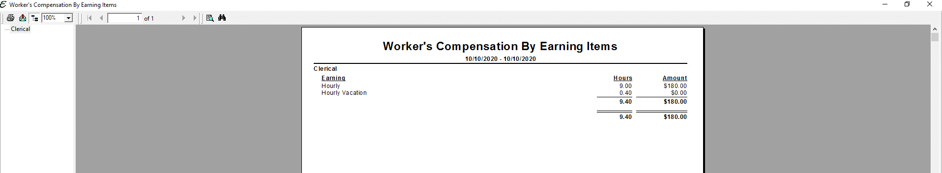 Worker's Compensation By Earning Items PDF