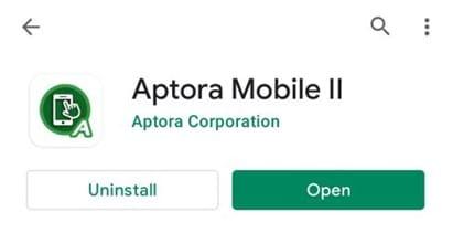 Aptora Mobile II - Server/Browser Requirements