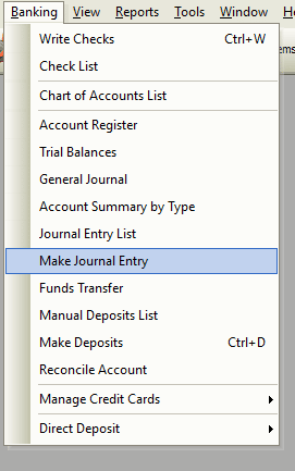 Make Journal Entry File Path