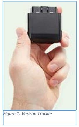 verizon tracker device
