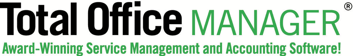 Total Office Manager Field Service Software