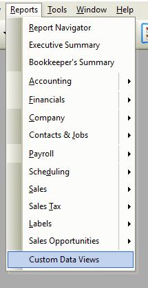Custom Data View File Path