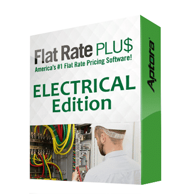 Electrical Flat Rate Software