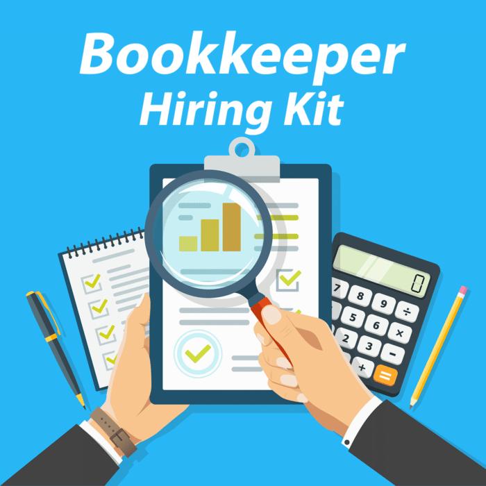 Bookkeeper Hiring Kit