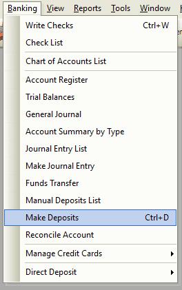 Make Deposit File Path