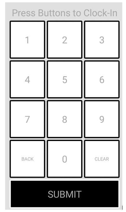 Time Tracker Plus Number Pad